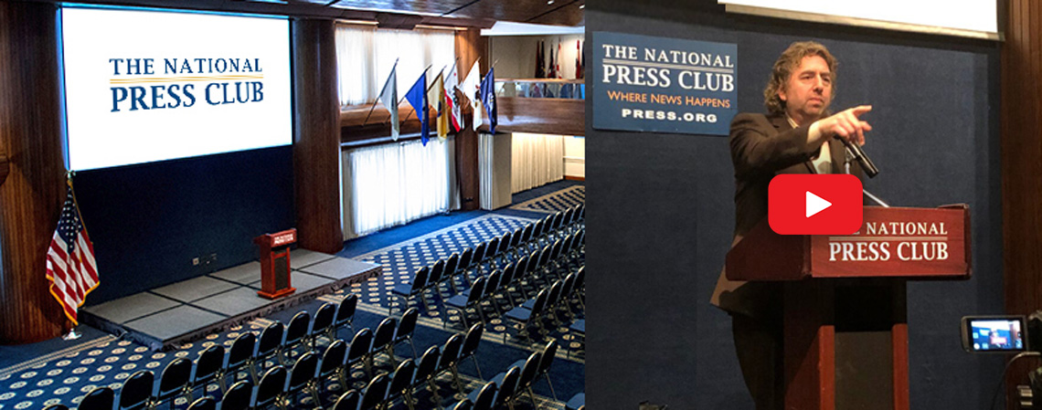 Inside the Holeman room at the National Press Club